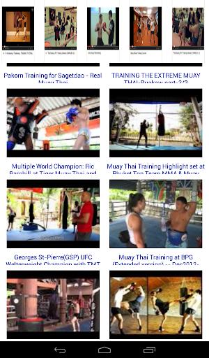 Muay Thai Kickboxing Training