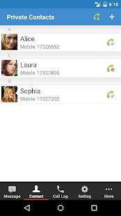 Private SMS & Call - Hide Text- screenshot thumbnail