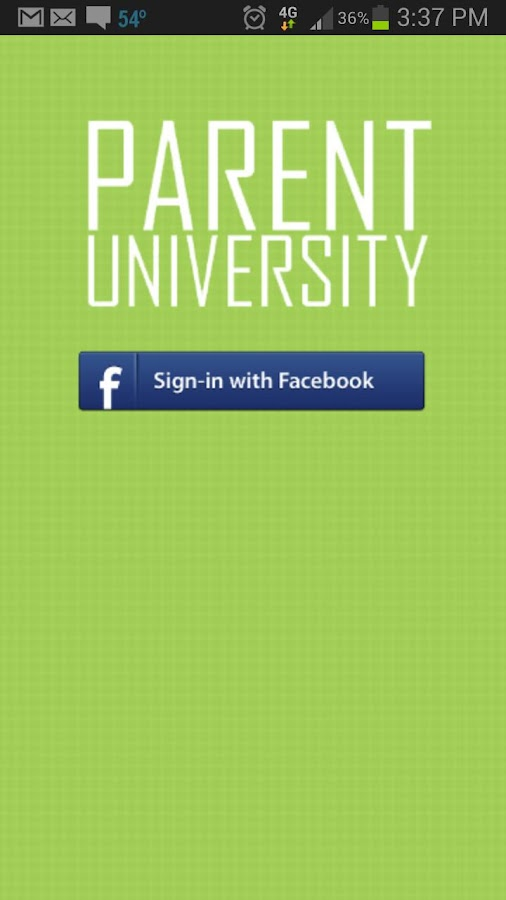 Parent University. - screenshot