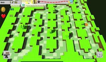 Screenshot of Tower Defense: Cubic world