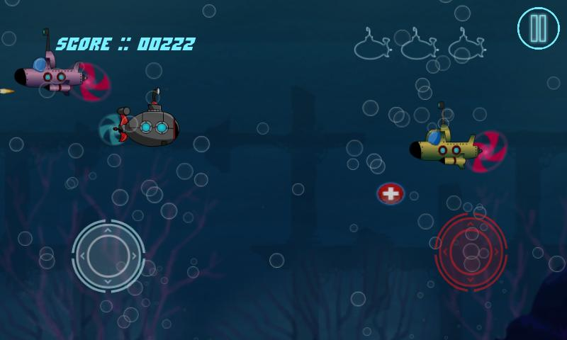 Arihant Submarine Shooter Lite- screenshot