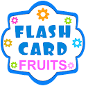 English Flash Cards - Fruits icon