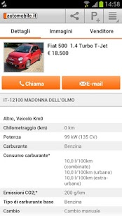 automobile.it - annunci auto - screenshot thumbnail