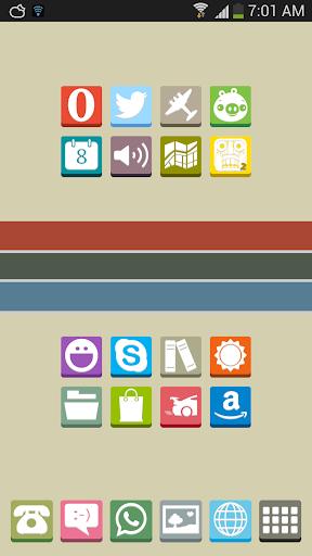 FlatBox - Icon Pack