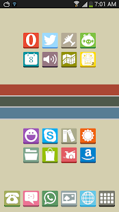 FlatBox - Icon Pack - screenshot thumbnail