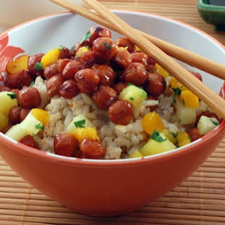 Hawaiian Chickpea Teriyaki.