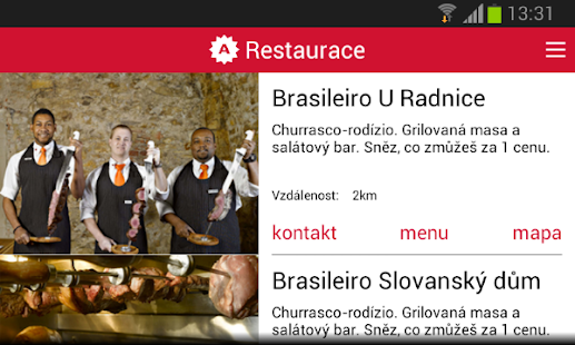 Ambiente Restaurants- screenshot thumbnail