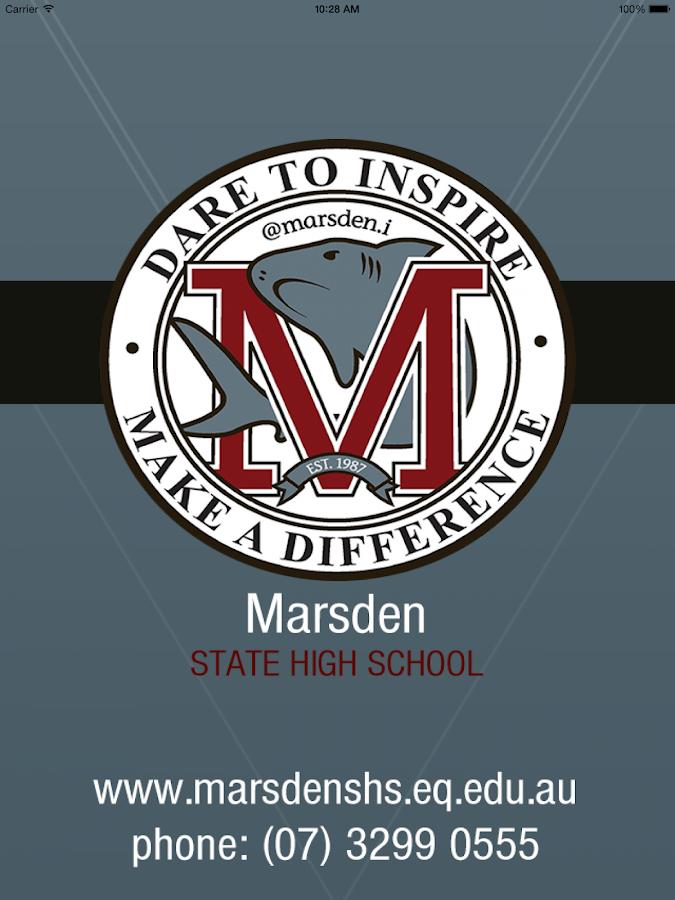 Marsden State School Skoolbag- screenshot