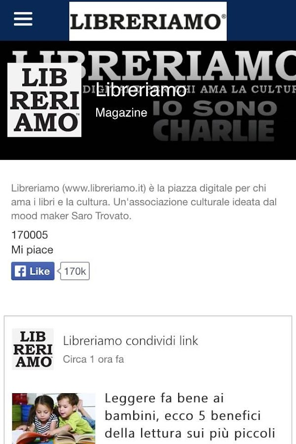 Libreriamo- screenshot