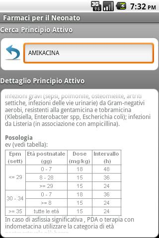 Farmaci per il neonato free - screenshot