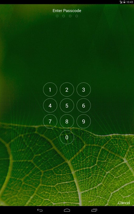 iOS 7 Lockscreen Parallax HD - screenshot
