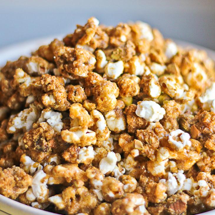 Garam Masala Caramel Corn for the Leftovers Club Recipe