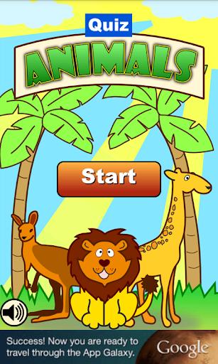 Animals Quiz for Kids