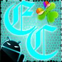 GOWidget Theme ElecCyan-Free logo