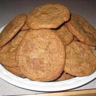 Giant Spice Cookies.