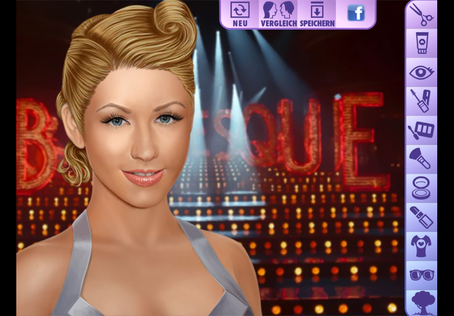 Christina Aguilera Makeup - screenshot