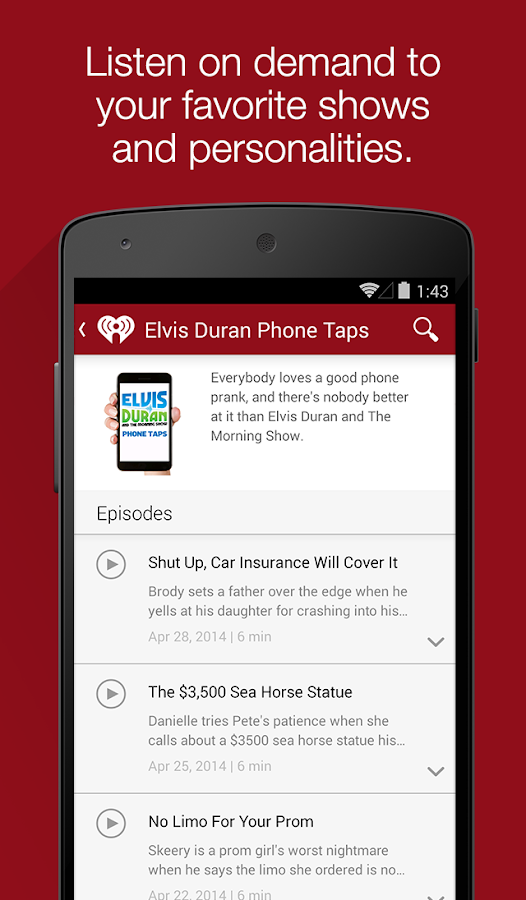 iHeartRadio - Music & Radio - screenshot