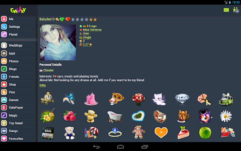 Galaxy - Chat & Play - screenshot thumbnail