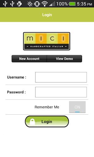 Mici Easy Online Ordering App