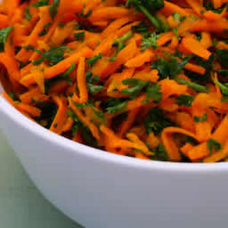 Carrot and Parsley Salad.