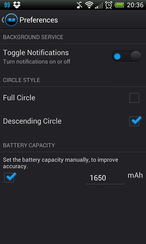 Reedoo Battery - screenshot