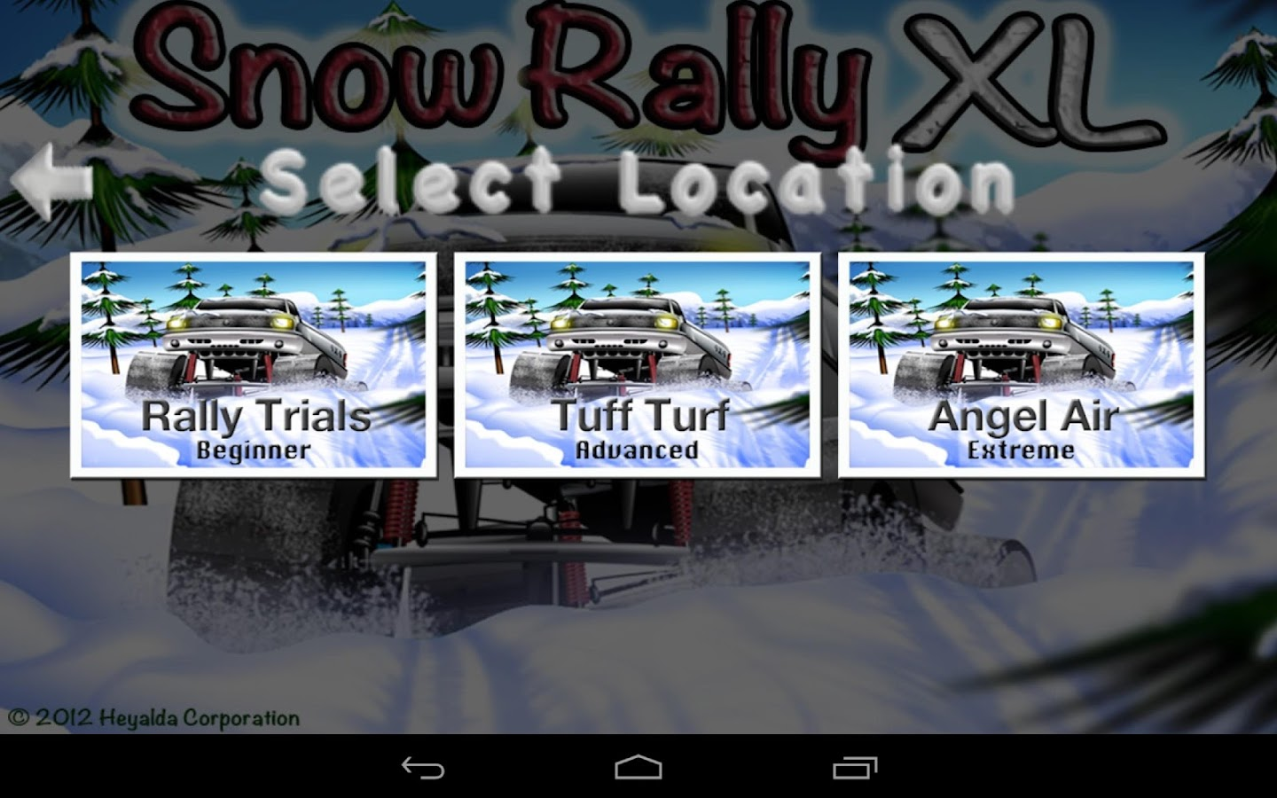 Snow Rally XL- screenshot
