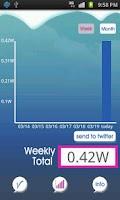 Screenshot of ForPenguin-Battery indicator