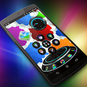Colourful Next Launcher Theme