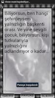 Screenshot of CEMAL SÜREYA SÖZLERİ