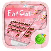 Fat Cat GO Keyboard Theme