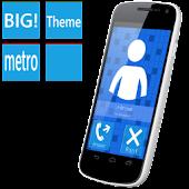BIG! caller ID Theme MetroBlue