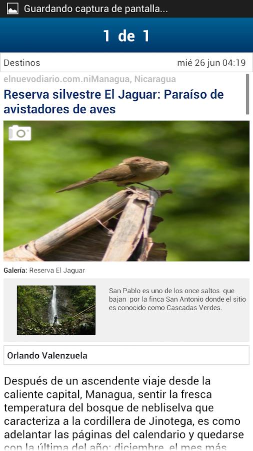 El Nuevo Diario - screenshot