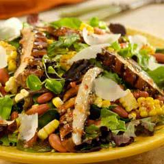 Mushroom & Corn Salad With Parmesan