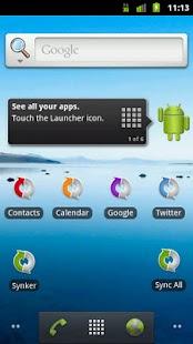 Synker Widget Unlock Key- screenshot thumbnail