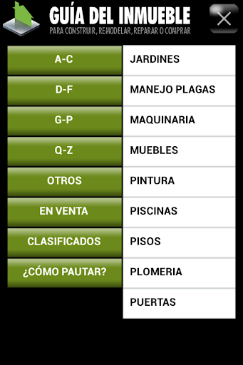 【免費商業App】GUIA DEL INMUEBLE-APP點子