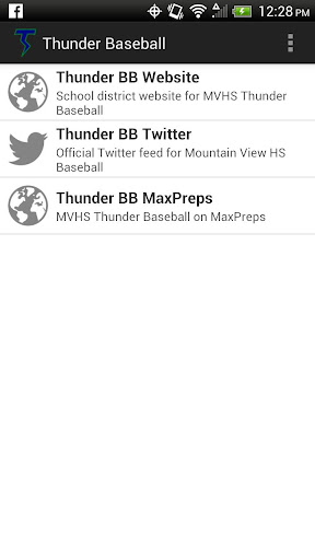 MVHS Thunder Baseball