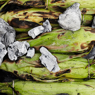 Ember-Roasted Corn on the Cob.