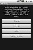Screenshot of Personality Lite (1.5)