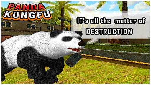 Panda Kung Fu 3D Game