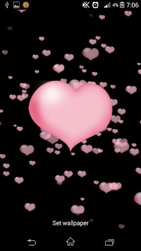 Flying Love Live Wallpaper