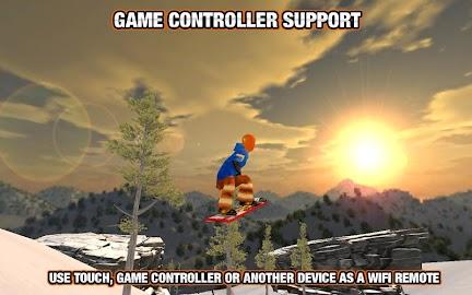 Crazy Snowboard Screenshot 3