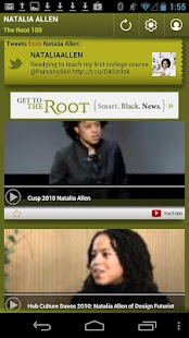 Natalia Allen: The Root 100 - screenshot thumbnail