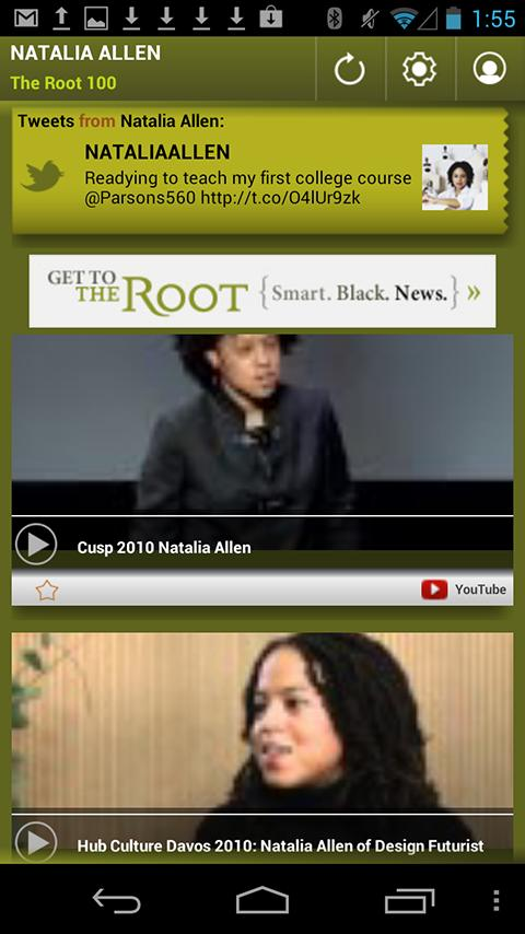 Natalia Allen: The Root 100 - screenshot