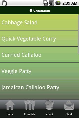 Jamaican Recipes- screenshot