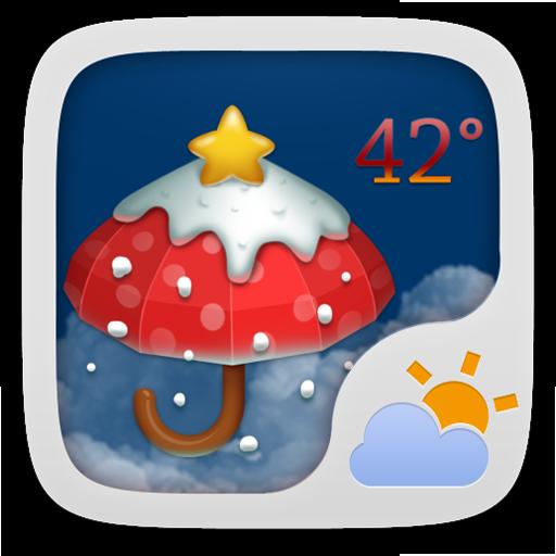 Christmas Theme GOWeatherEX 天氣 App LOGO-硬是要APP