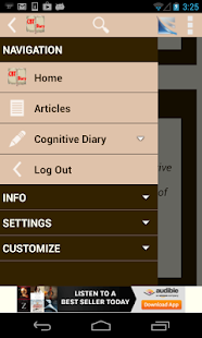 Cognitive Diary CBT Self-Help- screenshot thumbnail