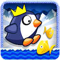 Penguin Ice Surfer icon