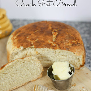 7 Minute Crock Pot Bread
