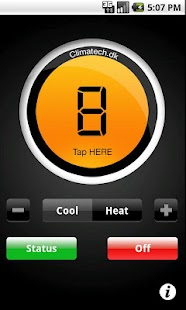 CTSmall SMS varmepumpe styring – miniaturescreenshot