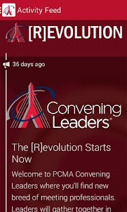 2014 PCMA Convening Leaders - screenshot thumbnail